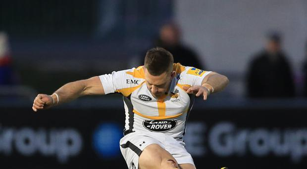 Wasps' Jimmy Gopperth showed nerves of steel