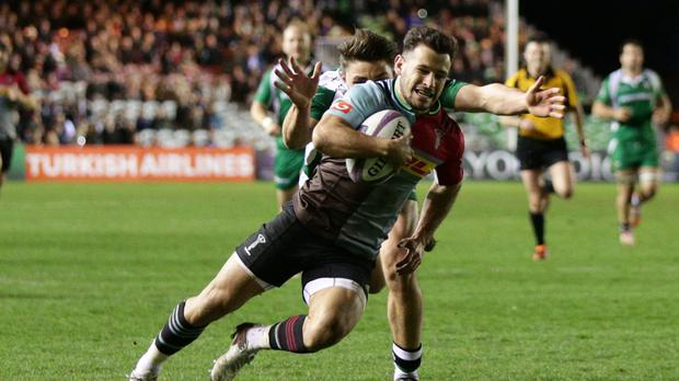 Danny Care scores Harlequins' second try