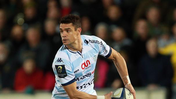 Racing 92's Dan Carter helped his side reach the semi-finals of the European Champions Cup
