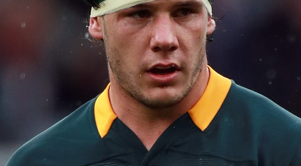 Marcell Coetzee is set to be out of action for nine months