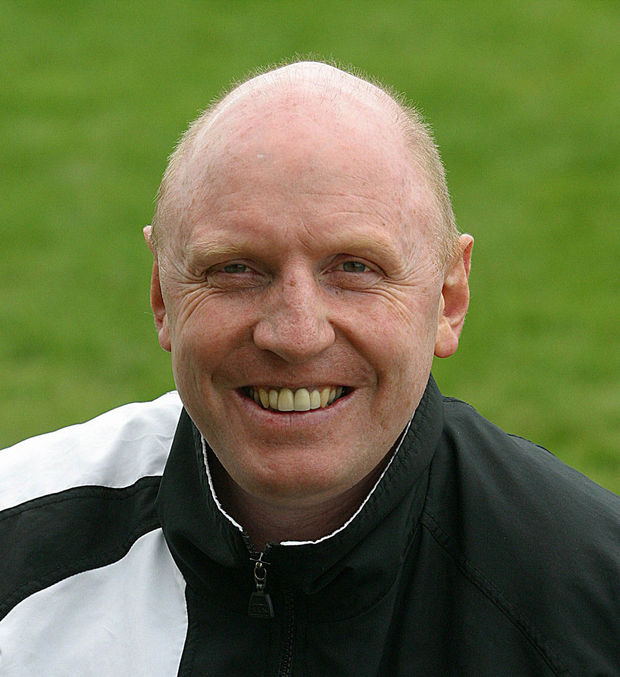 City of Derry coach Terry McMaster