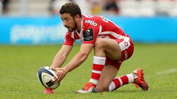 Greig Laidlaw booted three penalties and a conversion for Gloucester