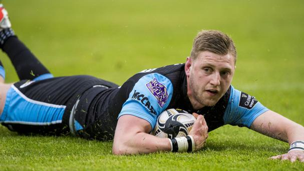 Finn Russell scored two tries, four conversions and a penalty