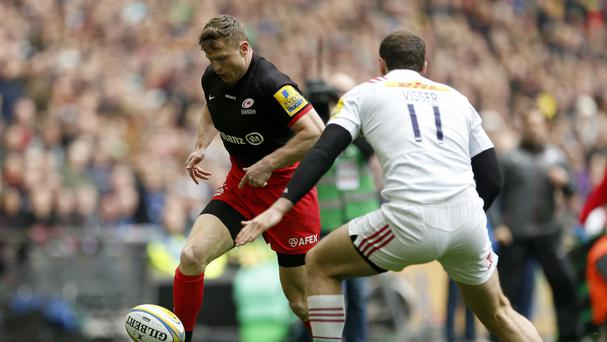 Two-try Chris Ashton impresses for Saracens against Harlequins