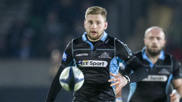Finn Russell starred for Glasgow at Scarlets on Saturday