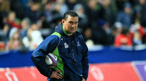 Connacht boss Pat Lam was given reason for cheer