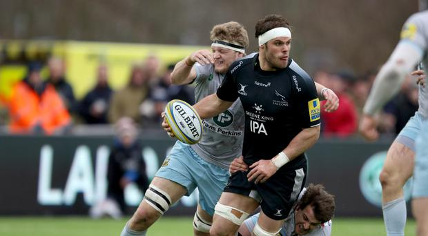 Newcastle Falcons captain Will Welch was pleased with his side's defensive effort against London Irish.