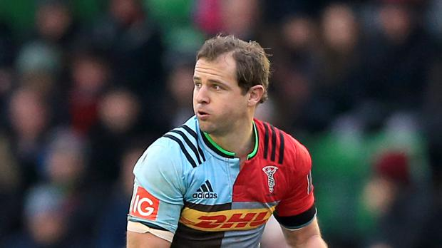 Nick Evans, pictured, has fought back from a broken leg for Harlequins' Challenge Cup semi-final against Grenoble on Friday night