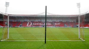 Doncaster's Rovers' Keepmoat Stadium could stage Aviva Premiership rugby union next season
