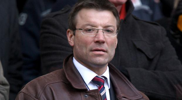 Rob Andrew will leave the Rugby Football Union at the end of this season with Nigel Melville replacing him as director of professional rugby