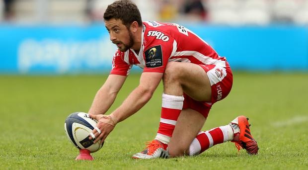 Greig Laidlaw kicked all of Gloucester's points