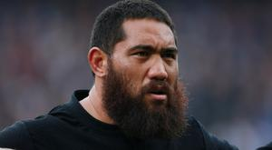 Charlie Faumuina was among the try scorers as the Blues downed the Rebels