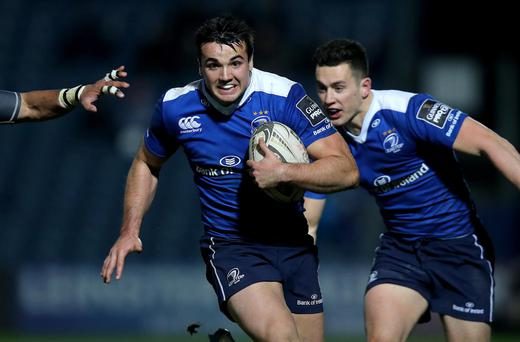 On the move: Leinster's bright young star Cian Kelleher feels he is 'better off' playing his provincial rugby with Connacht