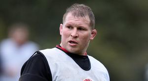 England captain Dylan Hartley could return to action on Saturday