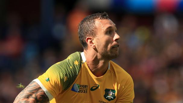 Australia star Quade Cooper will not be considered for this summer's Rio Olympics