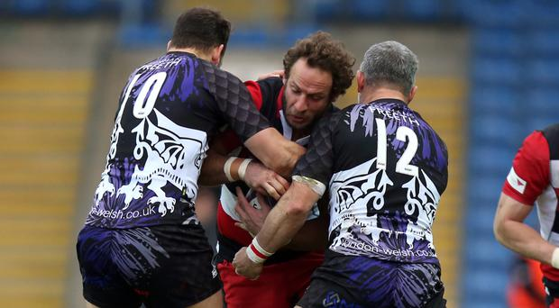 Edinburgh's Andries Strauss (centre) is looking to mark his final appearance for the capital club with a victory over Cardiff Blues