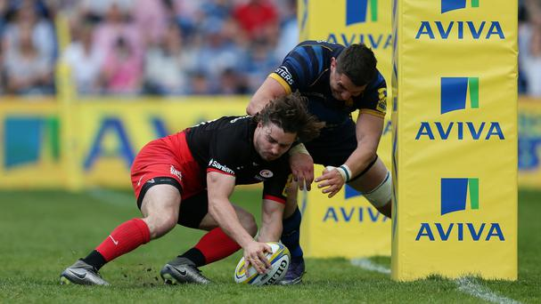 Ben Ransom was one of the try scorers as Saracens beat Worcester