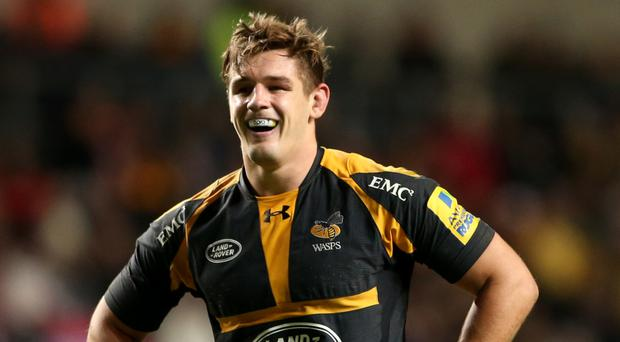 Sam Jones of Wasps is in the clear