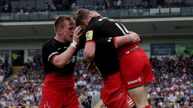 Saracens hope to be celebrating European success on Saturday