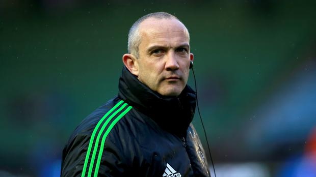 Conor O'Shea will take charge of Harlequins for the final time on Friday night