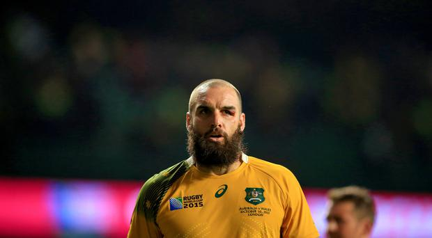 Scott Fardy was among the try scorers for the Brumbies