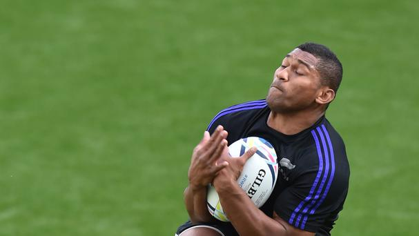 Waisake Naholo scored two first-half tries for the Highlanders
