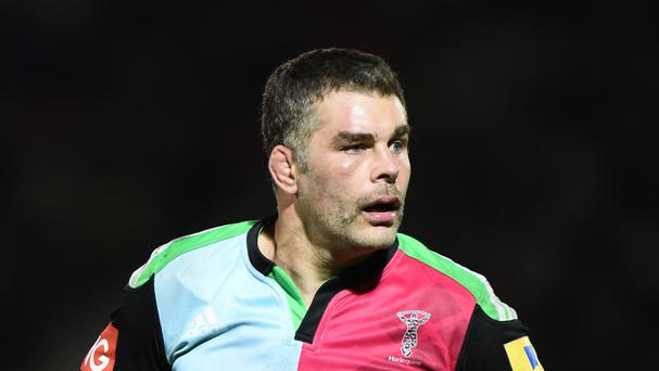 Nick Easter could not hide his disappointment after Harlequins' European Challenge Cup final defeat