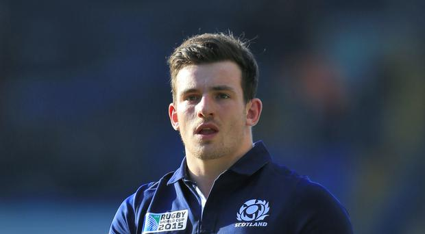 Matt Scott replaces injured Alex Dunbar for Scotland tour