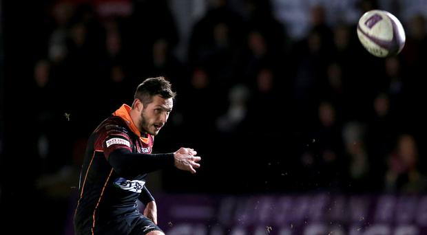 Jason Tovey has extended his stay with Edinburgh