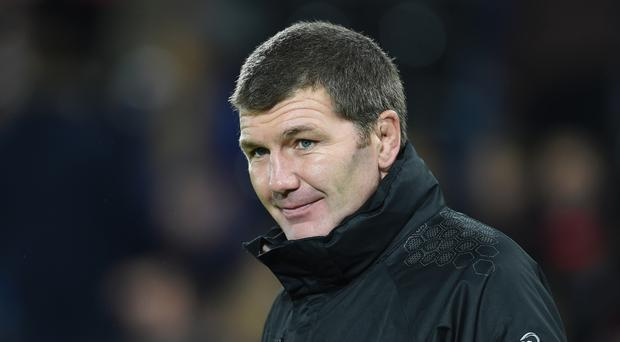 Exeter head coach Rob Baxter is relishing Saturday's Aviva Premiership play-off clash against Wasps