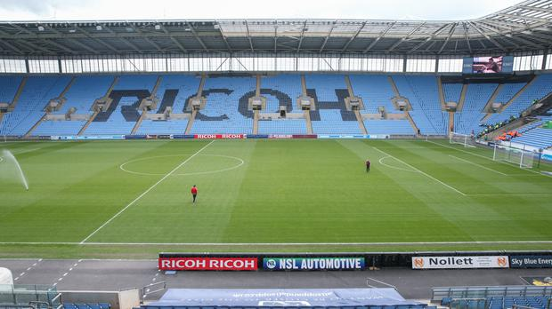 The Ricoh Arena has been Coventry's home for over a decade