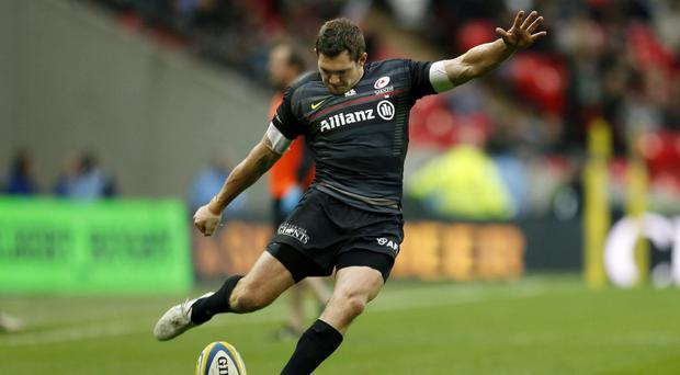 Alex Goode of Saracens has been named Aviva Premiership player of the season