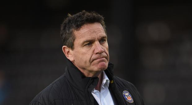 Mike Ford's departure has left a vacancy at Bath.