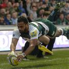 Telusa Veainu was one of a handful of Leicester players rested last weekend