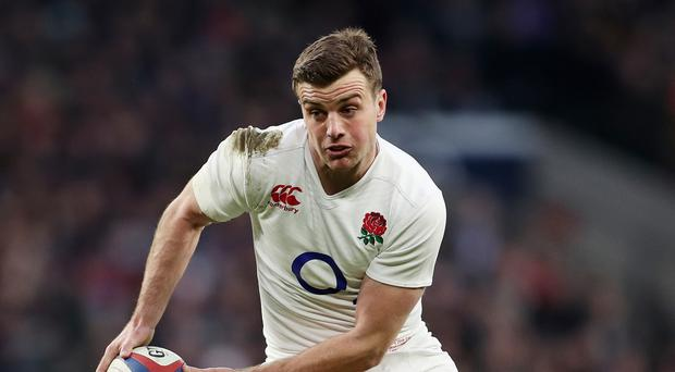 George Ford, pictured, is impressed with Eddie Jones' ability to know when to push and when to step back