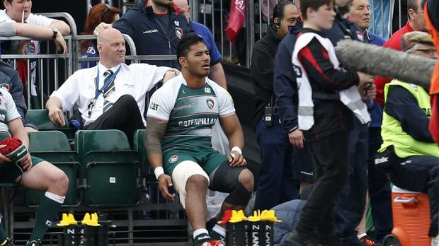 Leicester centre Manu Tuilagi is a doubt for England's summer tour because of a hamstring injury
