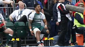 Leicester centre Manu Tuilagi is included in England's squad for Australia despite suffering a hamstring injury against Saracens