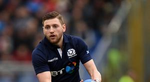 Finn Russell suffered a bad head injury during Glasgow's play-off clash