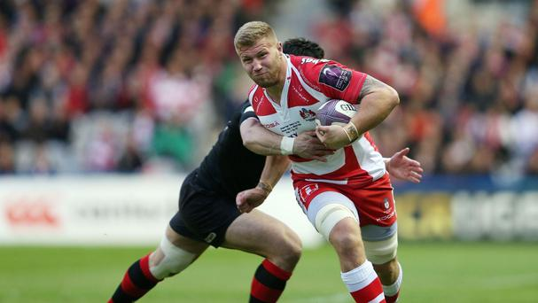 Gloucester flanker Ross Moriarty will line up for Wales in Sunday's clash against England at Twickenham