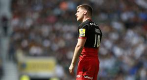 Saracens' Owen Farrell kicked 13 points in the win over Exeter.