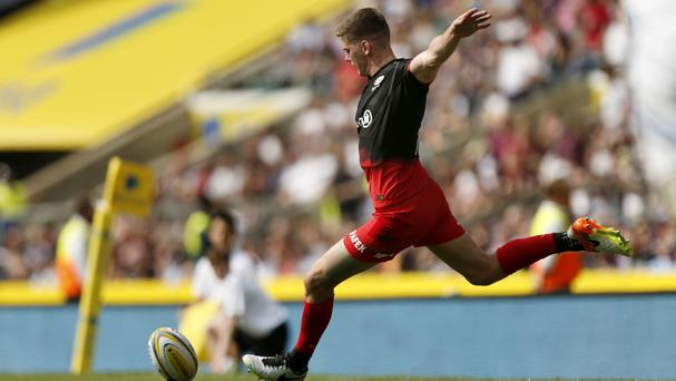 Owen Farrell kicked 13 points in Sarcens' Premiership final victory