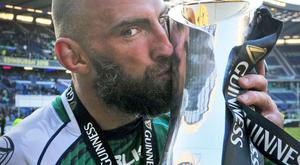 Connacht captain John Muldoon was in dreamland after the win