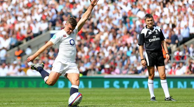 George Ford had a disappointing day with the boot against Wales