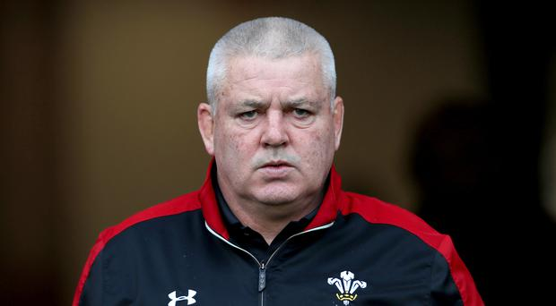 Wales head coach Warren Gatland is looking to down the world champions