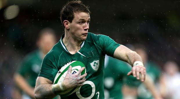 Craig Gilroy, pictured, enjoys playing alongside Ulster and Ireland team-mate Paddy Jackson