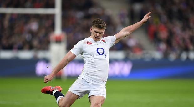 Owen Farrell will start at fly-half ahead of George Ford against Australia
