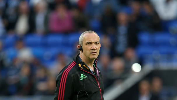 Conor O'Shea is the new Italy coach
