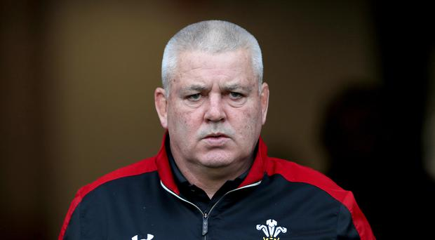 Warren Gatland saw his Wales side beaten in a tour match