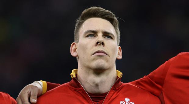 Liam Williams, pictured, moves to the wing in place of George North