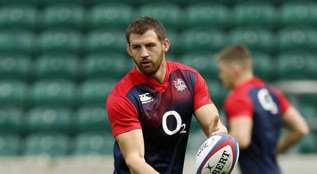 Tom Wood, pictured, has been named as Northampton Saints' new captain